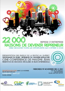 22 000 raisons de devenir repreneur!